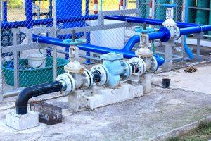 Commercial building plumbing