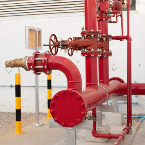 gas pipes