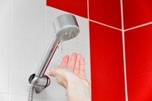 low shower pressure